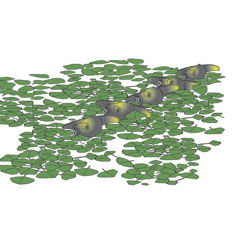 Leurre souple frog carnassier deps basirisky 70 7.5cm 21g - Créatures | Pacific Pêche