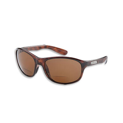 Lunettes polarisantes orvis superlight magnifier sunglasses avec loupes x2.5 (couleur écaille verres ambrées) - Lunettes | Pacific Pêche