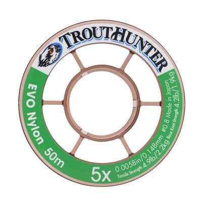 Fil nylon trout hunter evo tippet (50 m) - Fils-nylons | Pacific Pêche