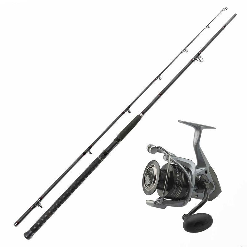 Combo bouée pellet canne battle 3m 200/300gr et moulinet tomcat 14000 - Packs | Pacific Pêche