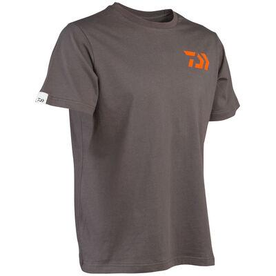 T-shirt daiwa gris-orange - Tee-Shirts | Pacific Pêche