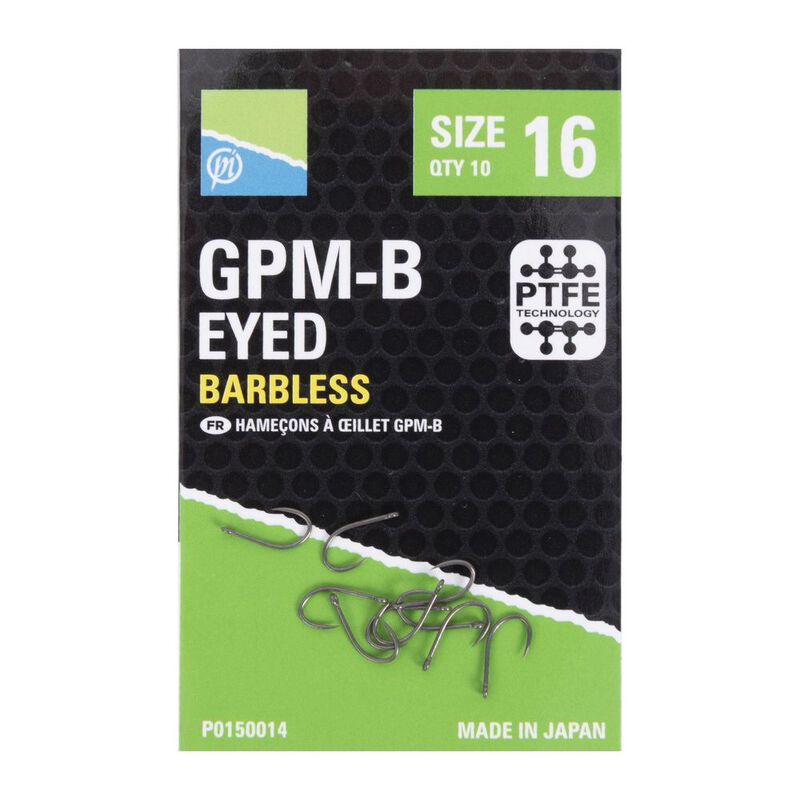 Hameçons à oeillet preston gpm-b - Hameçons | Pacific Pêche