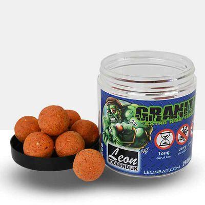 Bouillettes carpe hoogendijk granitic extra hard hoobait tutti frutti 20mm - Equilibrées | Pacific Pêche