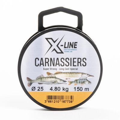 Nylon x-line carnassiers 150m - Monofilaments | Pacific Pêche