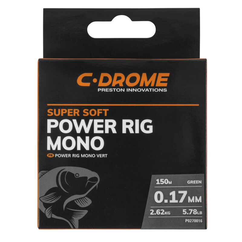 Nylon coup c-drome power rig mono 150m - Monofilaments   Pacific Pêche