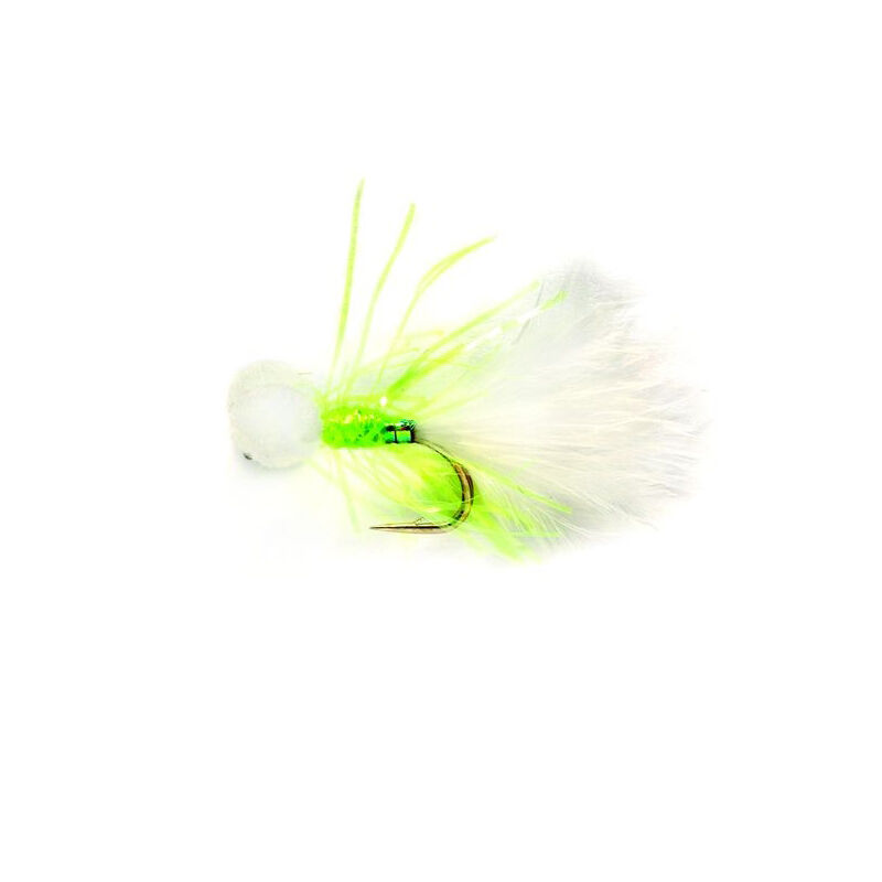 Streamer silverstone booby mini blanc h12 (x3) - Streamers   Pacific Pêche