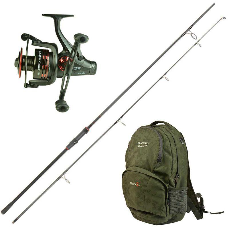 Pack mack2 sword stalk'r 9' 3lbs moulinet sword et sac à dos - Cannes ≤11'   Pacific Pêche