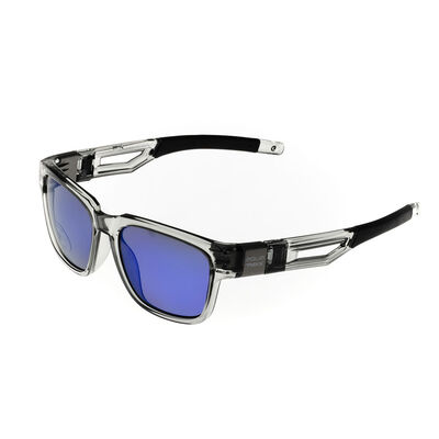 Lunettes aquatrekk bass rock - gris flash mirror bleu - Polarisantes | Pacific Pêche