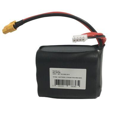 Batterie lithium toslon xt60 4400mah - Bateaux Amorceurs | Pacific Pêche