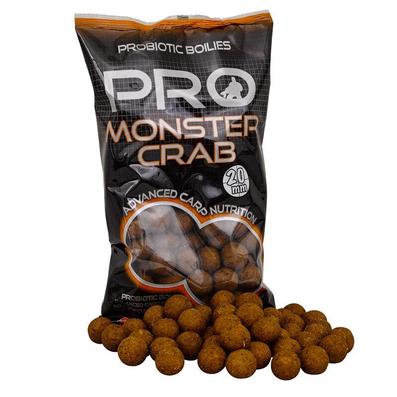 Bouillettes carpe probiotic monstercrab boilie 20mm - Denses | Pacific Pêche