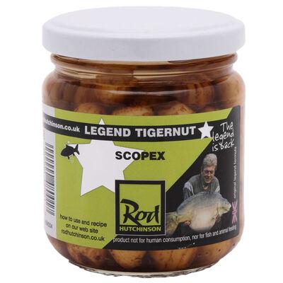 Graines cuites carpe rod hutchinson tigernut scopex - Prêtes à l'emploi | Pacific Pêche