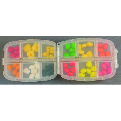 Kit grains de maïs artificiels carpe enterprise tack corn box - Imitations | Pacific Pêche