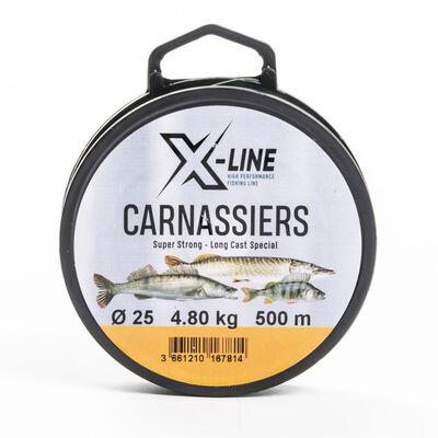 Nylon x-line carnassiers 500m - Monofilaments | Pacific Pêche