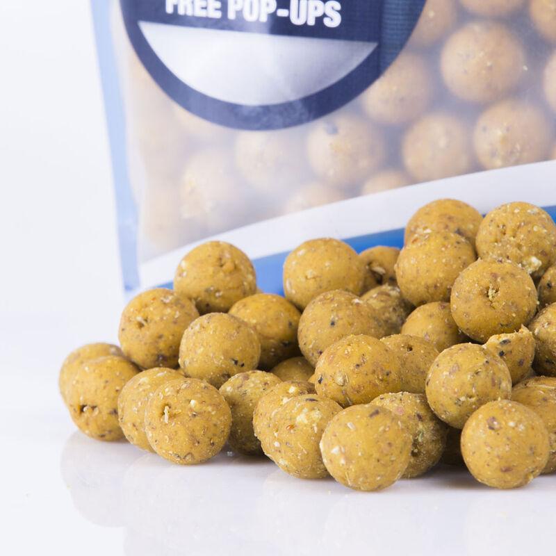 Bouillettes carpe nashbait instant action candy nut crush 20mm - Denses | Pacific Pêche
