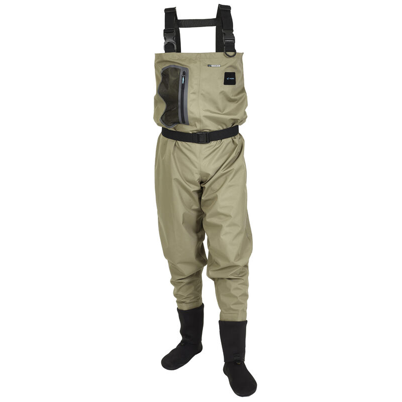 Waders hydrox first olive v2.0 king size - Respirant | Pacific Pêche