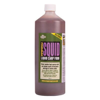 Booster carpe dynamite baits liquid carp food squid 1l - Liquides de trempage | Pacific Pêche