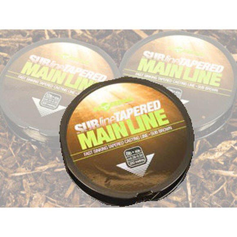 Nylon carpe korda subline tapered mainline 300m - Monofilament | Pacific Pêche