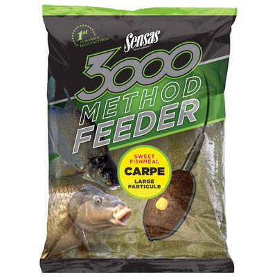Amorce coup sensas 3000 method feeder carpe 1kg - Amorces | Pacific Pêche
