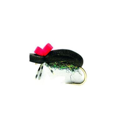 Mouche sèche silverstone scarabé noir h12 (x3) - Sèches | Pacific Pêche