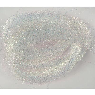 Filaments torsades flashmer blanc/perle - Divers | Pacific Pêche