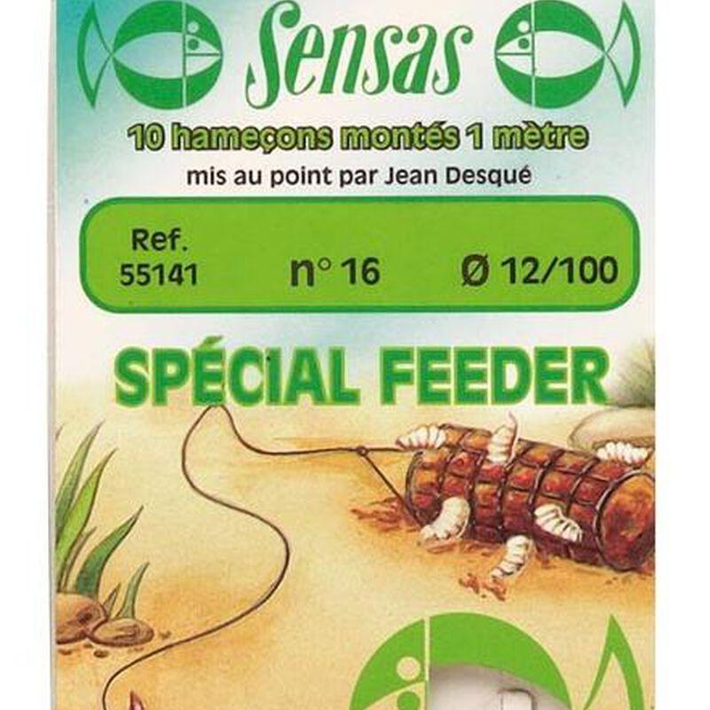 Hameçons montés coup sensas feeder 100cm (x10) - Hameçons Montés | Pacific Pêche