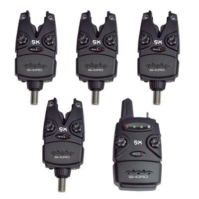 Coffret 4 détecteurs carpe mack2 sword sx alarm set + centrale - Coffrets détecteurs | Pacific Pêche