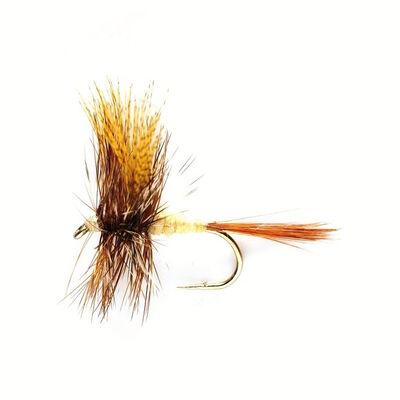 Mouche sèche silverstone march brown h12 (x3) - Sèches | Pacific Pêche