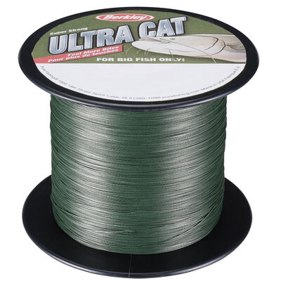 Tresse silure berkley ultra cat moss green - Tresses | Pacific Pêche