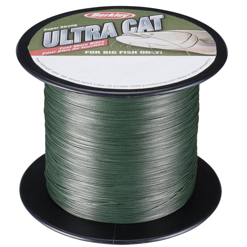 Tresse silure berkley ultra cat moss green - Tresses | Pacific Pêche