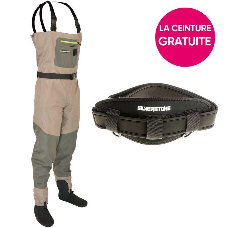 Pack waders respirant silverstone easymove sl3 + ceinture offerte - Packs | Pacific Pêche