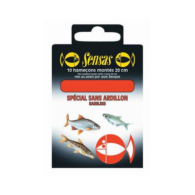 Hameçons montés coup sensas sans ardillon 20cm (x10) - Hameçons Montés | Pacific Pêche