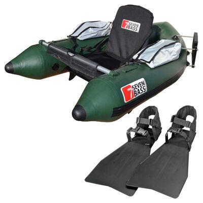 Pack navigation float tube seven bass skullway vert+ palmes - Floats Tube | Pacific Pêche