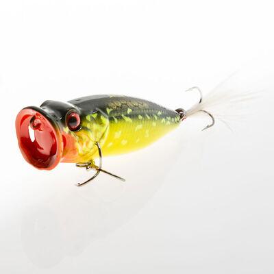 Leurre dur surface popper strike pro x-pop tiny 4,5cm 4g - Surface   Pacific Pêche
