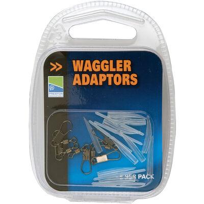 Agrafes pour flotteur coup preston adaptateurs waggler (x5) - Flotteurs | Pacific Pêche