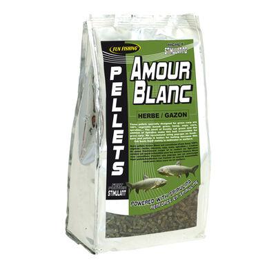 Pellets carpe fun fishing 6mm herbe gazon 1kg - Amorçages   Pacific Pêche