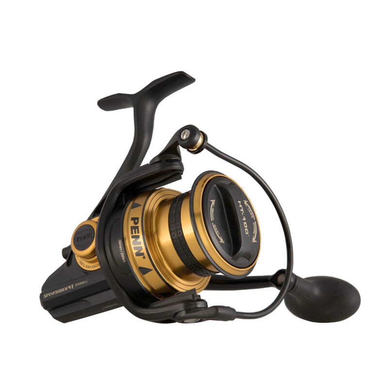 Moulinet surfcasting penn spinfisher vi long cast 5500 - Tambour Fixe | Pacific Pêche