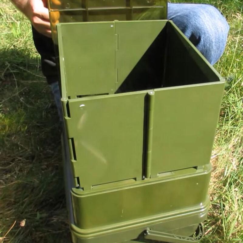 Extension pour broyeur ridge monkey advanced boilie crusher hopper extension - Seaux | Pacific Pêche