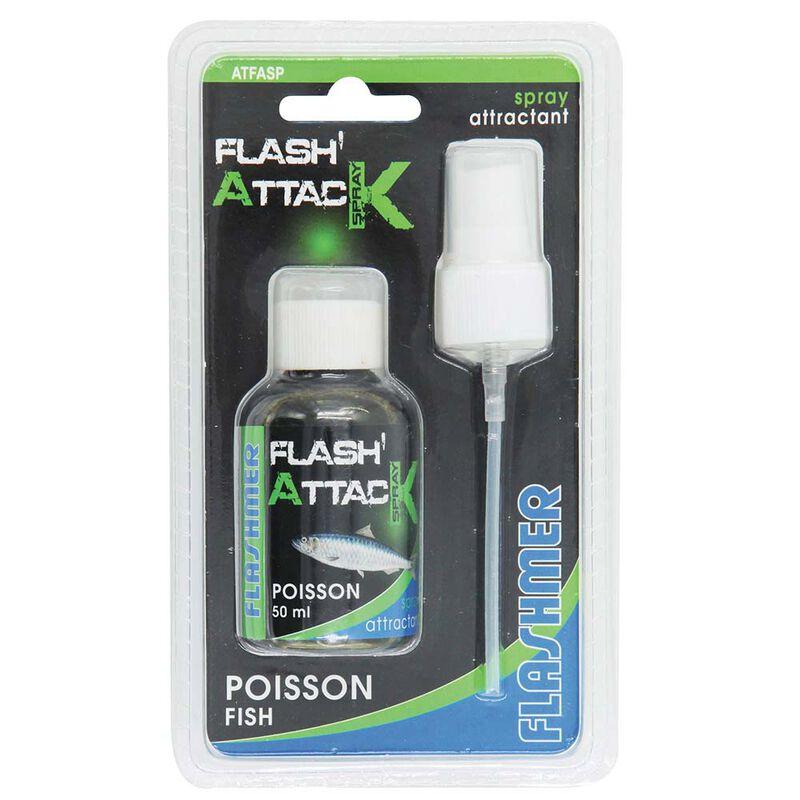 Attractant flashmer flash attack spray poisson - Attractants | Pacific Pêche