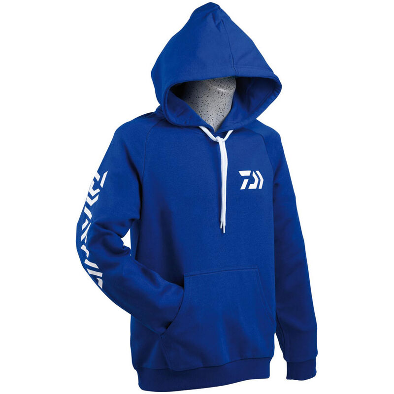 Sweat à capuche daiwa bleu - Sweat Shirt | Pacific Pêche