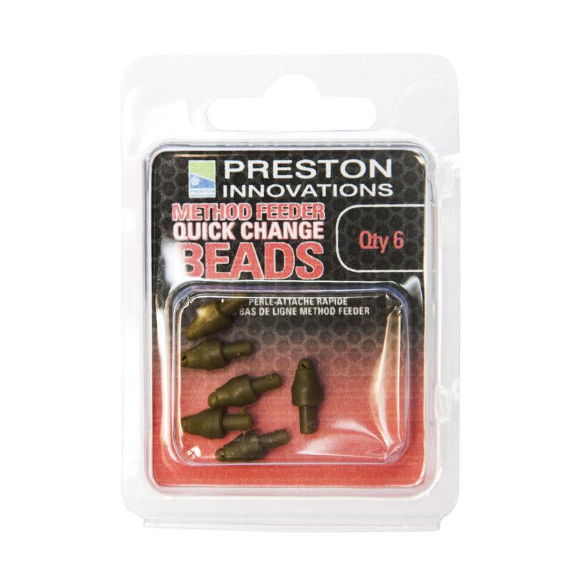 Perles d'attache rapide coup preston method feeder quick change bead - Emerillons / Agrafes / Perles | Pacific Pêche