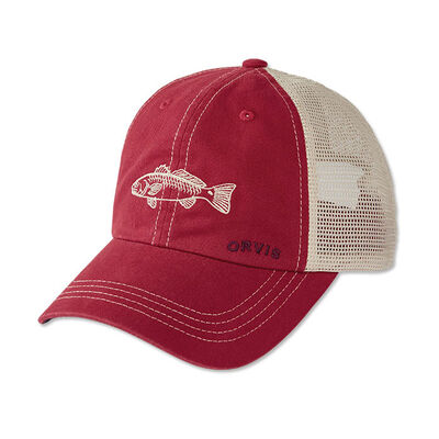 Casquette orvis saltwater bum red - Casquettes | Pacific Pêche