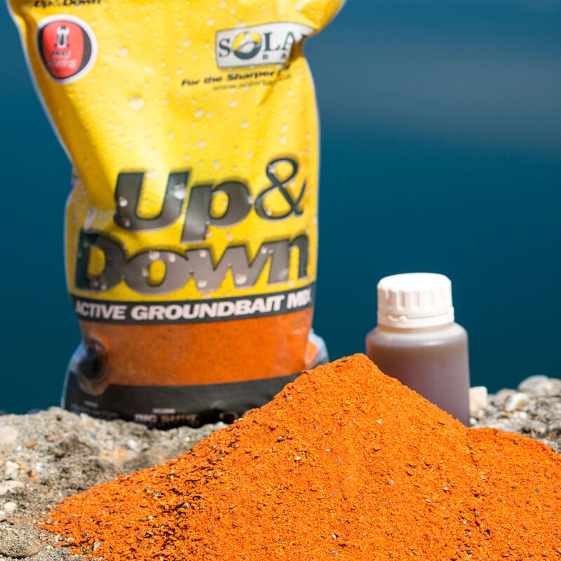 Groundbait carpe solar up / down mix red herring 1kg - Methods Mix | Pacific Pêche