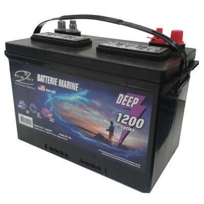Batterie marine frazer 130ah / 1200 cycles - Batteries | Pacific Pêche