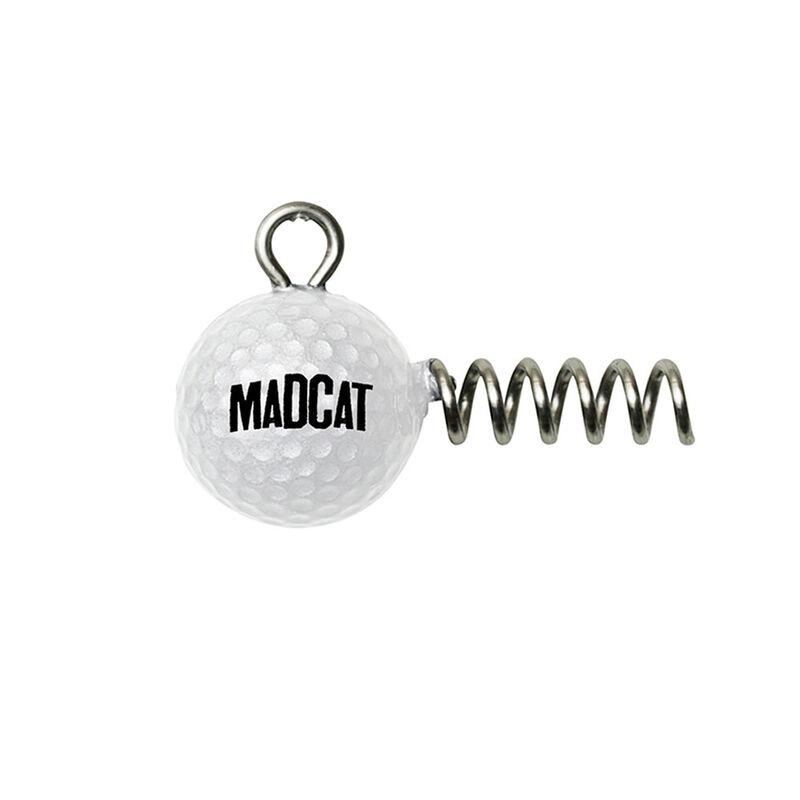 Tête plombée silure madcat golf ball screw-in jighead (x2) - Têtes plombées | Pacific Pêche