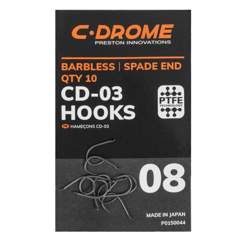 Hameçons c-drome cd-03 pochette de 10 - Hameçons | Pacific Pêche