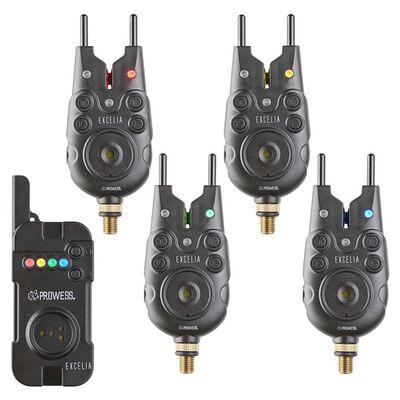 Coffret 4 détecteurs prowess excelia + centrale - Coffrets détecteurs | Pacific Pêche