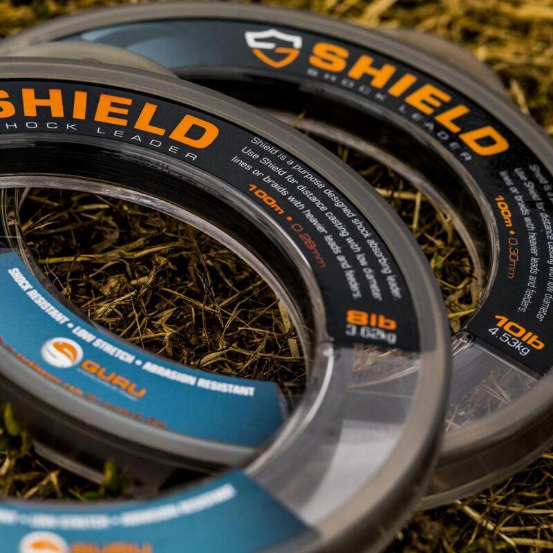 Tête de ligne shield shockleader line guru 100m - Monofilaments | Pacific Pêche