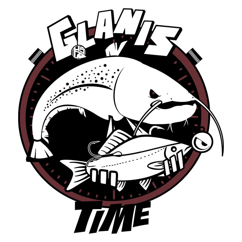 Sweat à capuche hot spot design fishing time - glanis - Sweats/Polaires | Pacific Pêche