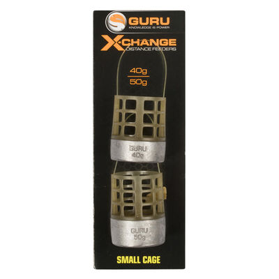 Cages feeder coup guru x-change distance feeder small (x2) - Cages Feeder | Pacific Pêche