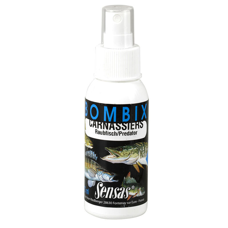 Attractant carnassier sensas bombix carnassiers 75ml - Attractants | Pacific Pêche
